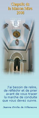 chapelle de la Maison Mère