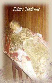 Reliques de Ste Flavienne