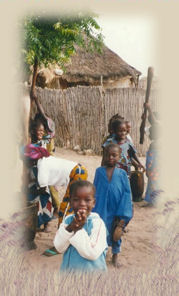 Sénégal habitat enfants